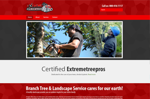 Tree cutter business website